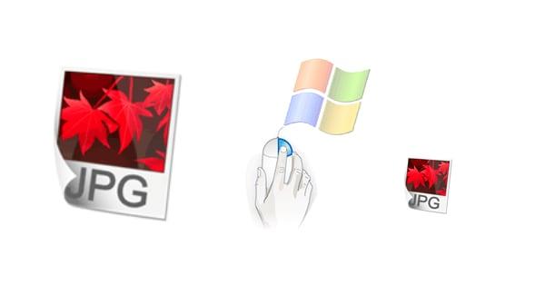 Redimensionar imagenes masivamente con el botón derecho en Windows