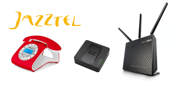 Configurar SPA112 como centralita de telefonos VOIP para Jazztel Fibra FTTH 2018